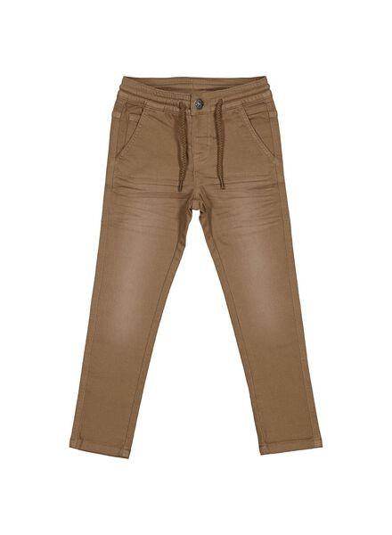 pantalon enfant cognac cognac - 1000013792 - HEMA