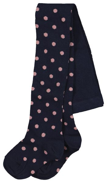 children's leggings dots dark blue dark blue - 1000020494 - hema