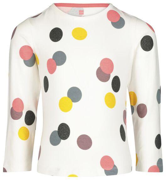 Kinder-Pyjama, Punkte eierschalenfarben 110/116 - 23040603 - HEMA