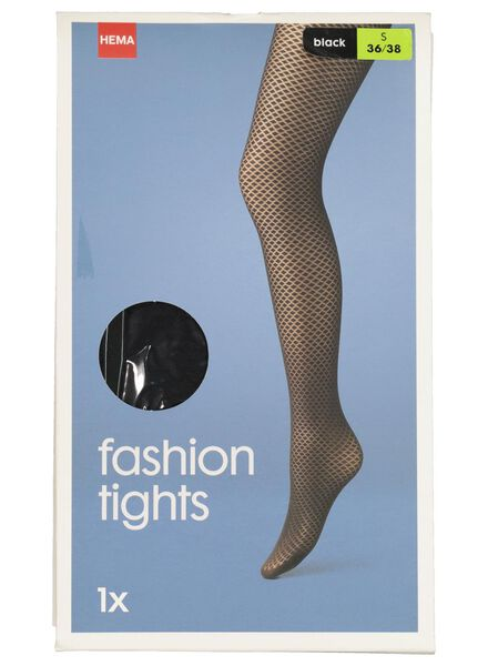 tights black black - 1000017078 - hema