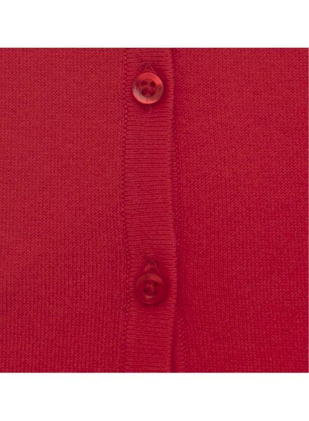 women's cardigan red red - 1000007733 - hema