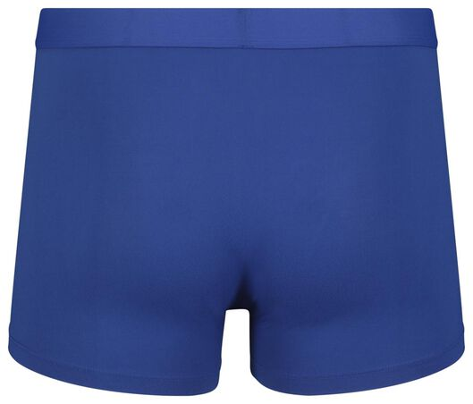 2-pack men's boxer shorts short recycled micro blue XL - 19169313 - hema