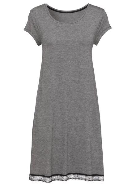 HEMA T-shirt De Nuit Femme Noir/blanc (noir/blanc)