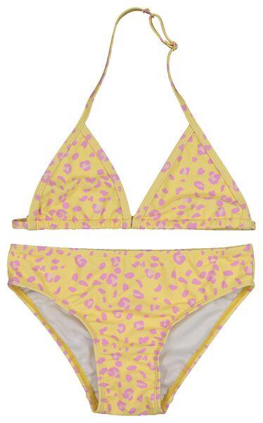bikini triangle enfant jaune jaune - 1000018236 - HEMA
