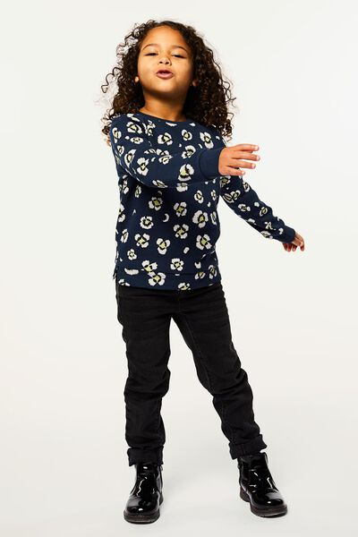 children's sweater dark blue 158/164 - 30861367 - hema