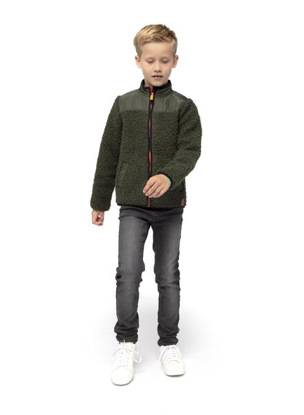 children's cardigan green green - 1000016680 - hema