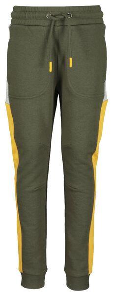 children's sweatpants army green 122/128 - 30736613 - hema