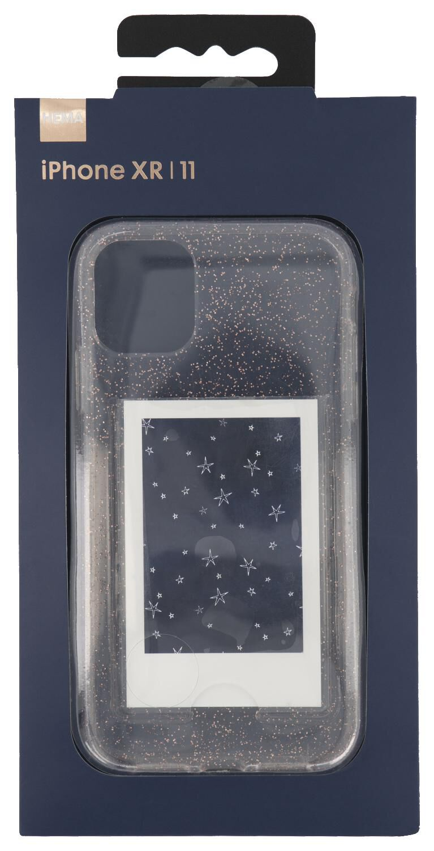 coque souple iPhone XR/11 avec pochette photo - HEMA