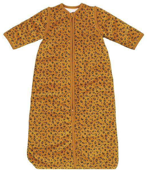 babyslaapzak - padded - afritsmouw - dieren bruin bruin - 1000019995 - HEMA
