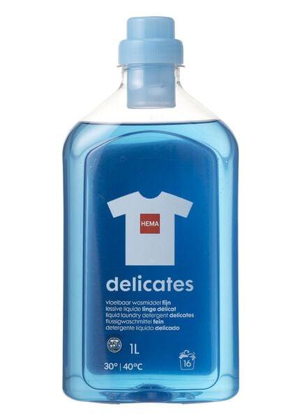 lessive liquide délicat1 litre - 20500027 - HEMA