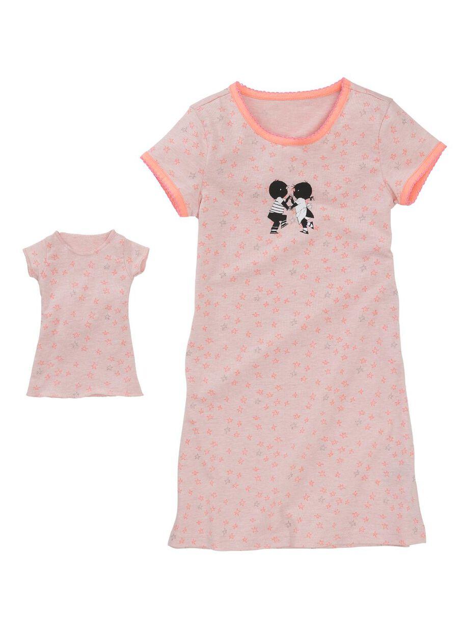 84d02f94dcf Abbildungen Kinder-Nachthemd hellrosa hellrosa - 1000002758 - HEMA