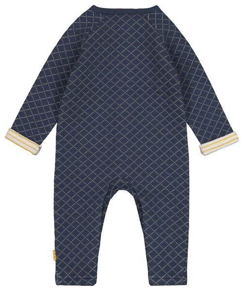 newborn jumpsuit blue blue - 1000017302 - hema