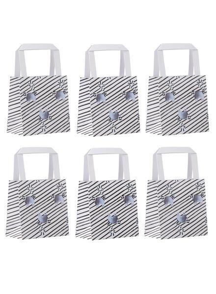 6 small gift bags - 13 x 13 cm - 14700206 - hema