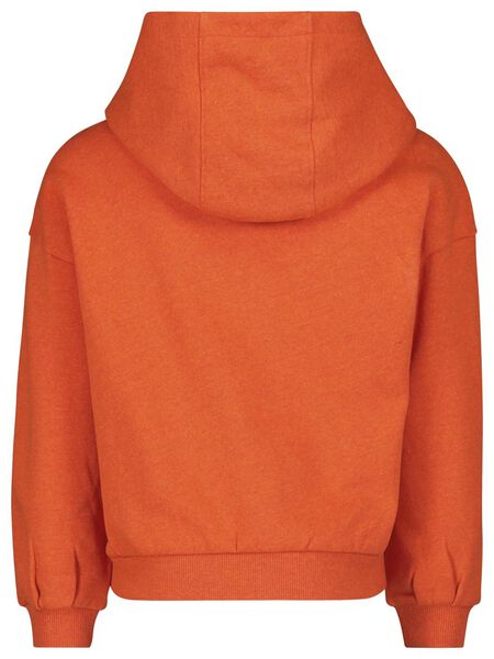children's hooded sweater - recycled cotton red red - 1000017841 - hema