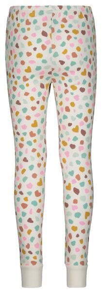 Kinder-Pyjama, Punkte eierschalenfarben eierschalenfarben - 1000022770 - HEMA