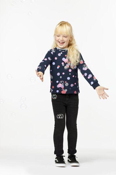 Kinder-Sweatshirt dunkelblau dunkelblau - 1000024923 - HEMA