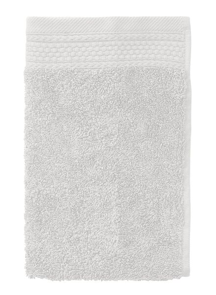 guest towel - 33 x 50 cm - hotel extra thick - light grey plain light grey guest towel - 5240197 - hema