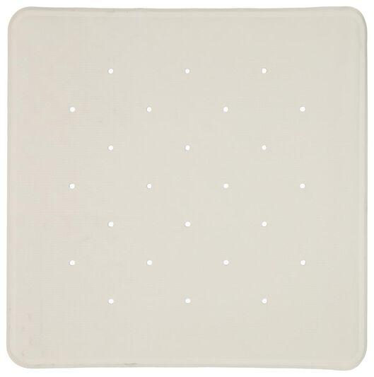 Antirutsch-Badematte, 53 x 53 cm, Gummi, weiß - 80380013 - HEMA