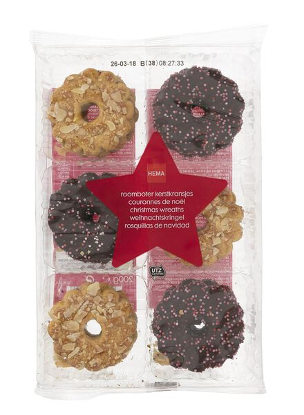 biscuits noël au beurre - 10900074 - HEMA