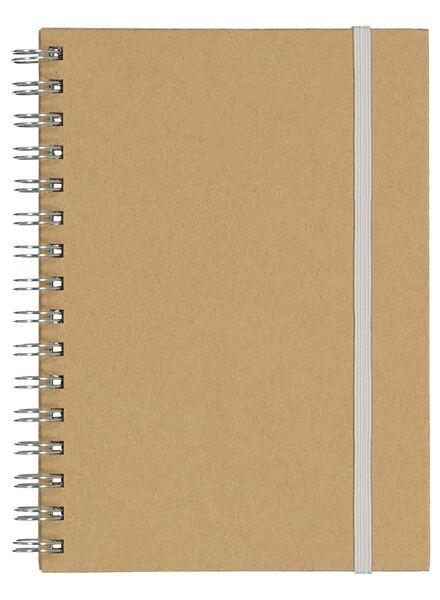 A5 ruled notebook - 14136011 - hema