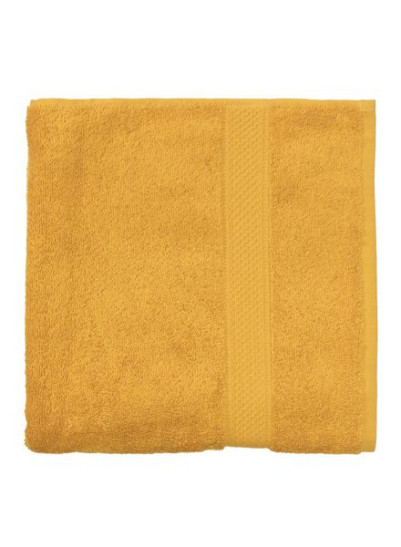 serviette - 60 x 110 cm - qualité hôtel - ocre uni ocre serviette 60 x 110 - 5220030 - HEMA