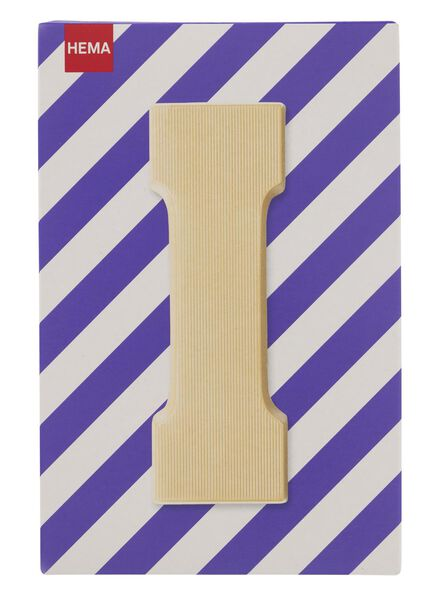white chocolate letter I - 10037020 - hema