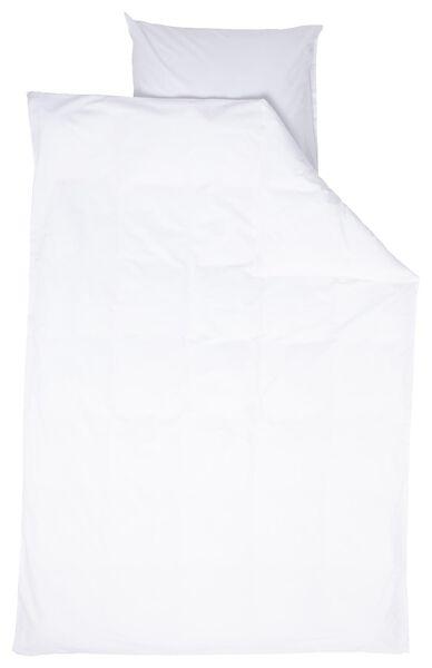 duvet cover - cotton/lyocell - 140x200/220 - white - 5790050 - hema