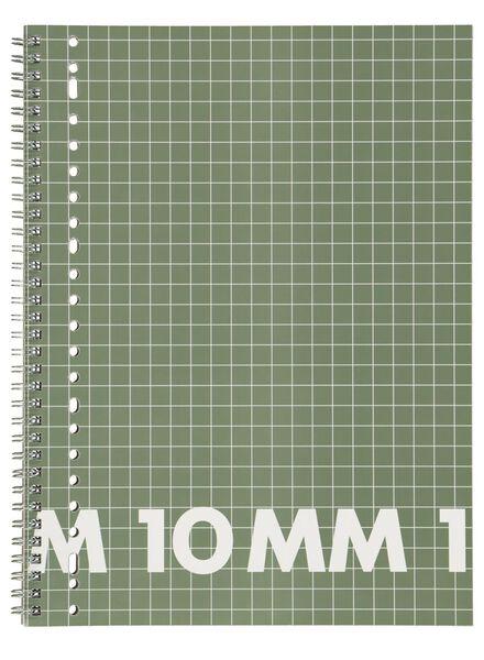 3 Hefte, 16,5 x 21 cm, kariert 10mm - 14101609 - HEMA