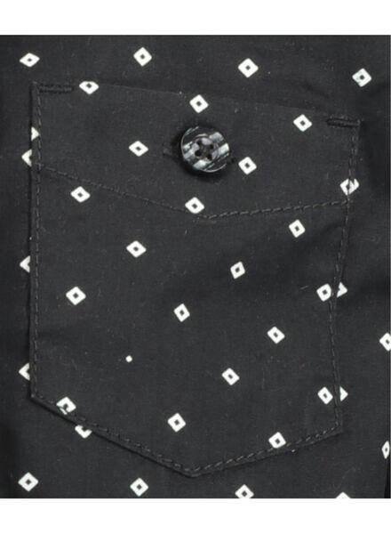 children's blouse with tie black black - 1000017291 - hema