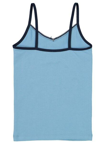 2-pack children's vests blue blue - 1000016868 - hema