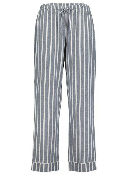 Damen-Pyjamahose dunkelblau dunkelblau - 1000017235 - HEMA