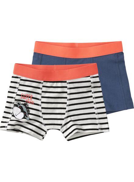 2-pack children's boxers off-white off-white - 1000006508 - hema