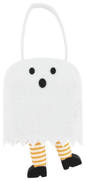 small felt bag 7x14x12 - Halloween ghost - 25200530 - hema