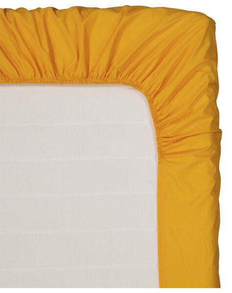 drap-housse lit d'enfant 60x120 - jaune - 33347130 - HEMA