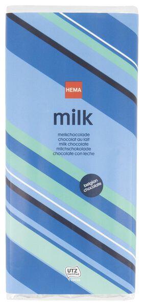barre de chocolat au lait - 200grammes - 10371014 - HEMA