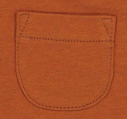 baby T-shirt brown 80 - 33134814 - hema