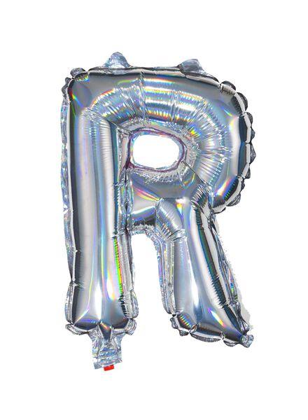 foil balloon R - silver - 14200220 - hema