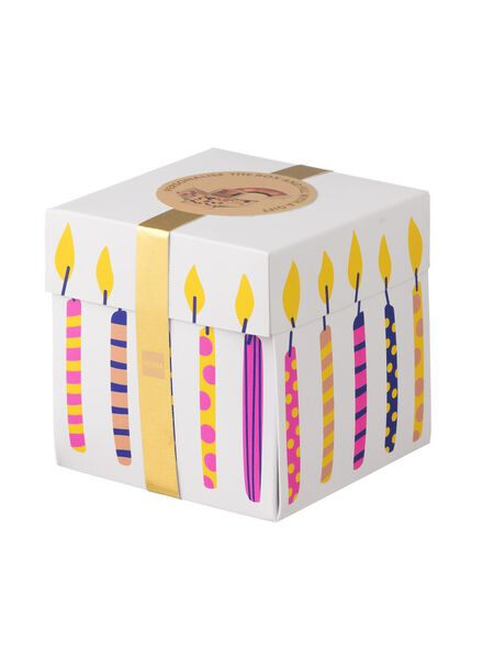 surprise gift box medium 10 x 10 x 10 cm - 60800609 - hema