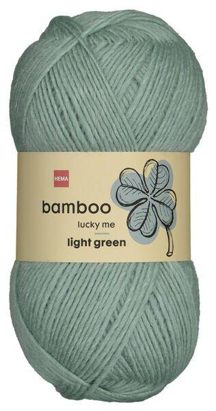 fil de laine bambou 100g vert - 1400228 - HEMA