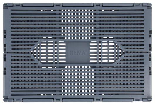 caisse pliante tableau recyclée 20x30x11.5 - bleue bleu moyen 20 x 30 x 11,5 - 39822186 - HEMA
