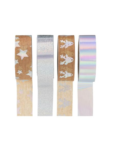 4er-Pack Washi Tape - 25301724 - HEMA