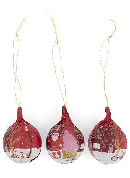 chocolade kerstballen - 10040226 - HEMA