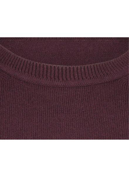 men's sweater red red - 1000017145 - hema