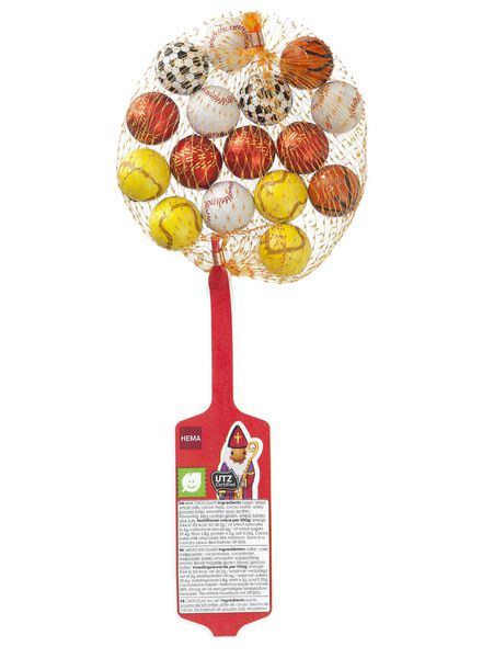chocolade sportballen - 10000212 - HEMA