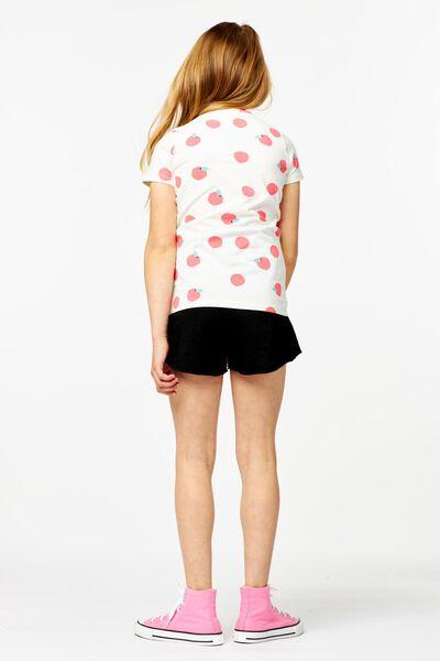 Kinder-T-Shirt, Früchte eierschalenfarben eierschalenfarben - 1000024235 - HEMA