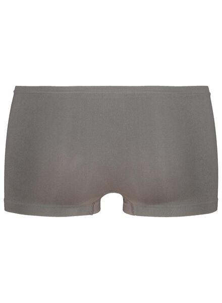 boxer femme sans coutures en micro gris gris - 1000015697 - HEMA