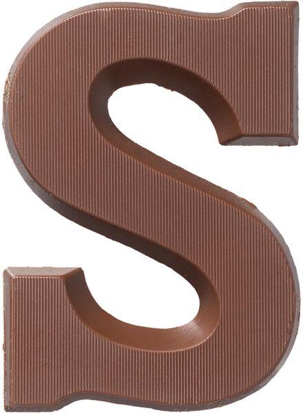 lettre en chocolat du lait du lait - 1000016872 - HEMA