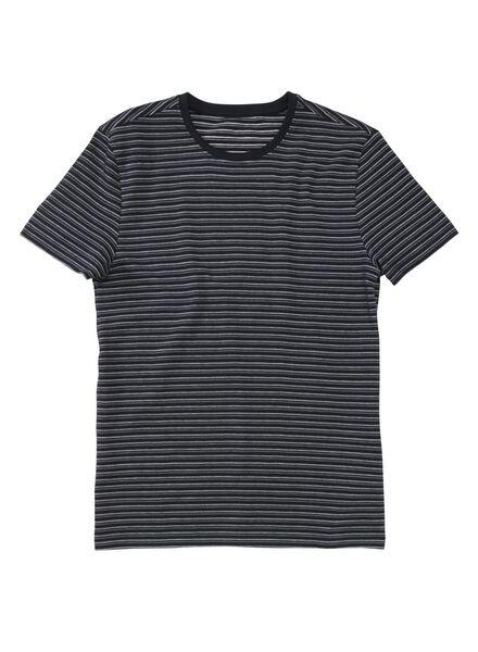 men's T-shirt dark blue dark blue - 1000006074 - hema