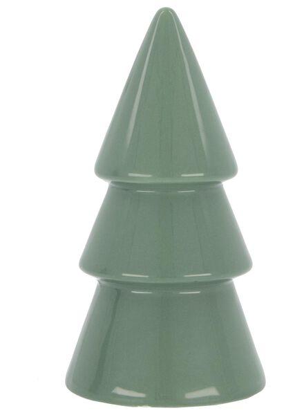 Weihnachtsbaum, 15 cm, Keramik - 25103066 - HEMA