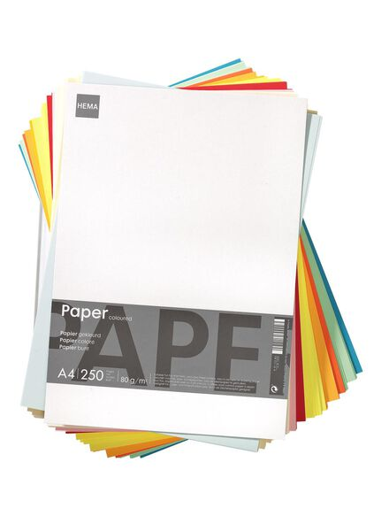 copying paper A4 coloured 250 sheets - 14811029 - hema